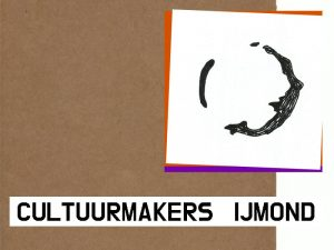 Cultuurmakers IJmond Logo